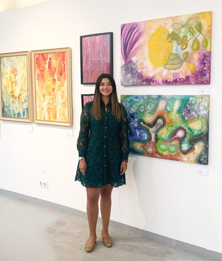 Barcelona Contemporary Art Fair 2021 Naty Alfano Artist Painting Artista Pintura Obras Arte